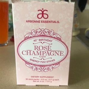 Arbonne Rose Champagne Fizz Sticks - Qty 14